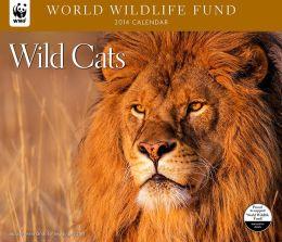 2014 Wild Cats WWF Wall Calendar