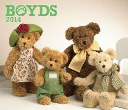 2014 Boyds Bears Deluxe Wall Calendar