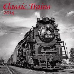 2014 Trains Classic Wall Calendar