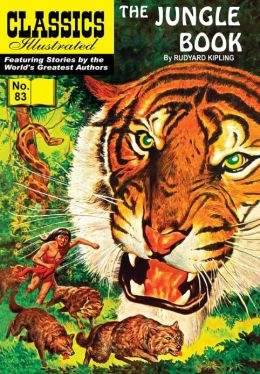 The Jungle Book - Classics Illustrated #83 (NOOK Comics with Zoom View)