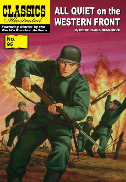 All Quiet on the Western Front - Classics Illustrated #95 (NOOK Comics with Zoom View)
