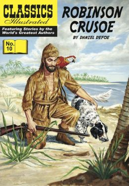 Robinson Crusoe - Classics Illustrated #10 (NOOK Comics with Zoom View)