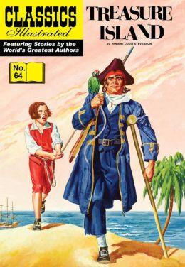 Treasure Island - Classics Illustrated #64 (NOOK Comics with Zoom View)