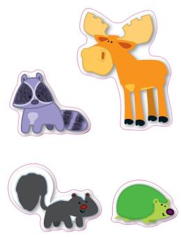 Moose & Friends Stickers