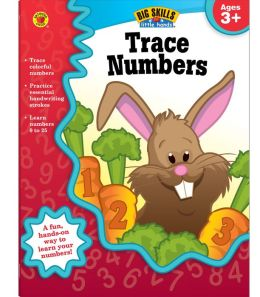 Trace Numbers Workbook, Grades Preschool - K