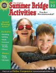 Book Cover Image. Title: Summer Bridge Activities, Grades 1 - 2:  Bridging Grades First to Second, Author: Summer Bridge Activities