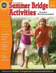 Book Cover Image. Title: Summer Bridge Activities, Grades 4 - 5:  Bridging Grades Fourth to Fifth, Author: Summer Bridge Activities