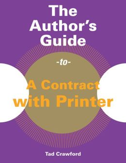 The Author's Guide to a Contract with Printer