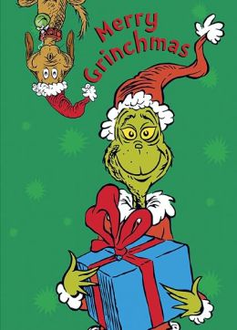 GRINCH CHRISTMAS BOXED CARD MUSEUM BOX