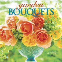 2014 Garden Bouquets Wall Calendar