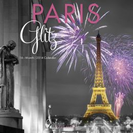 2014 Paris Glitz Wall Calendar