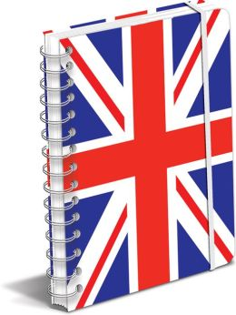 Union Jack Spiral Journal