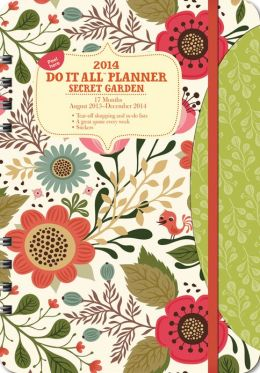 2014 Secret Garden Do It All Planner
