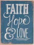 Product Image. Title: Deconstructed Faith Hope Love Journal 6.5'' x 8.5''