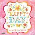 Book Cover Image. Title: 2015 Happy Day Wall Calendar, Author: Katie Daisy