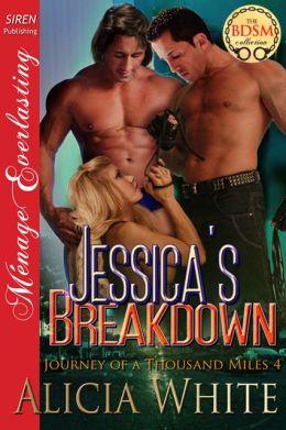 Jessica's Breakdown [Journey of a Thousand Miles 4] (Siren Publishing Menage Everlasting)