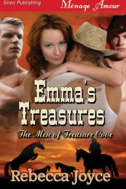 Emma's Treasures [The Men of Treasure Cove] (Siren Publishing Menage Amour)