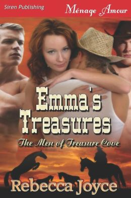 Emma's Treasures [The Men of Treasure Cove 1] (Siren Publishing Menage Amour)