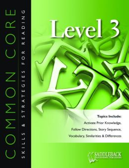 Common Core Skills & Strategies for Reading Level 3