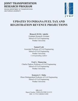 Updates to Indiana Fuel Tax and Registration Revenue Projections