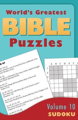 World's Greatest Bible Puzzles--Volume 10 (Sudoku)