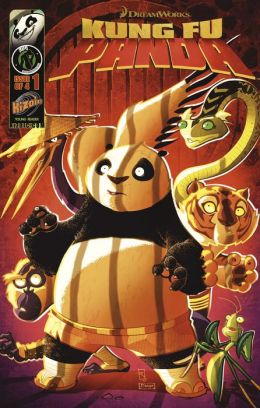Kung Fu Panda Vol.1 Issue 1 (NOOK Comics with Zoom View)