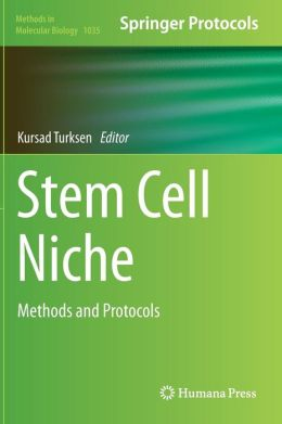 Stem Cell Niche: Methods and Protocols