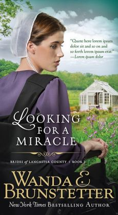 Looking for a Miracle (Brides of Lancaster County Series #2)