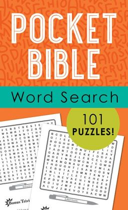 Pocket Bible Word Search: 101 Puzzles!