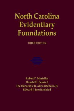 North Carolina Evidentiary Foundations
