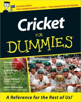 Cricket for Dummies : Australian Edition