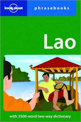 Lonely Planet Lao Phrasebook