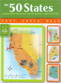 The 50 States: Jumbo-Sized Fact Cards and Fun Games