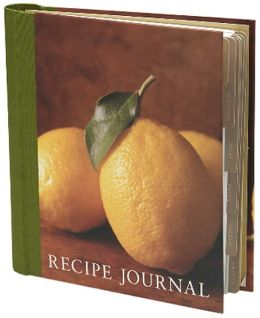 Recipe Journal - Lemon