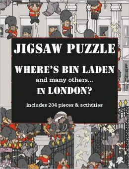 Where's Bin Laden in London? Jigsaw Puzzle: Includes 204 Pieces & Activities
