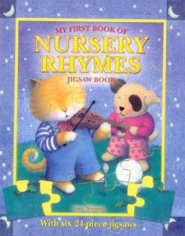 My First Book of Nursery Rhymes: Jigsaw Book