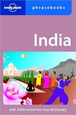 Lonely Planet: India Phrasebook