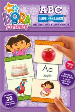 Dora Alphabet Slide and Learn: Interactive Flash Cards