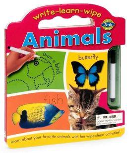 Write Learn Wipe: Animals