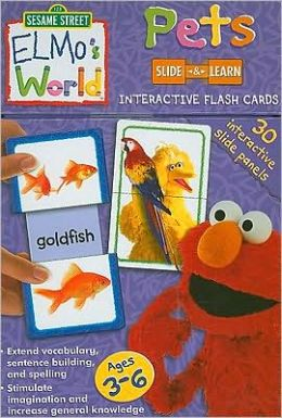 Elmo's World Flash Cards: Pets
