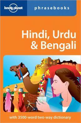 Hindi, Urdu & Bengali Phrasebook