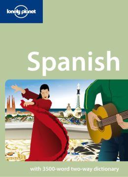 Lonely Planet Spanish Phrasebook & Audio (Enhanced Edition)