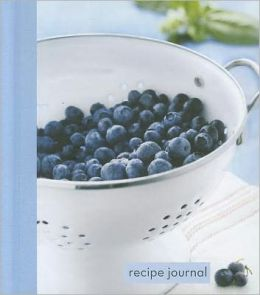 Recipe Journal: Blueberry Colander - Small