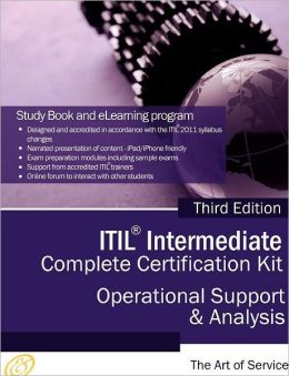 Itil Operational Support And Analysis (Osa) Full Certification Online Learning And Study Book Course - The Itil Intermediate Osa Capability Complete Certification Kit, Third Edition