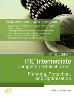 Itil Planning, Protection And Optimization (Ppo) Full Certification Online Learning And Study Book Course - The Itil Intermediate Ppo Capability Complete Certification Kit, Third Edition