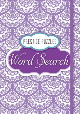 Large Format Prestige Puzzles: Search-a-Word