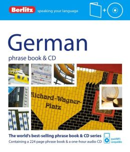 Berlitz German Phrase Book and CD