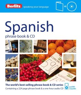 Berlitz Spanish Phrase Book and CD
