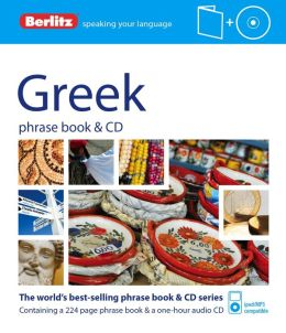 Berlitz Greek Phrase Book and CD