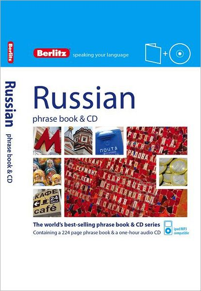 Berlitz Russian Phrase Book & CD